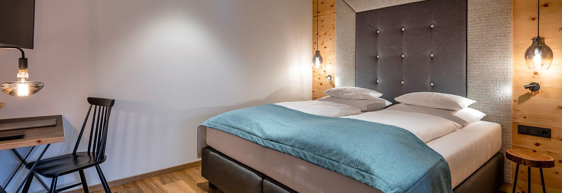 Stone pine suite Wohlfühlzeit double bed