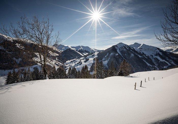 Winter hiking in Saalbach Hinterglemm