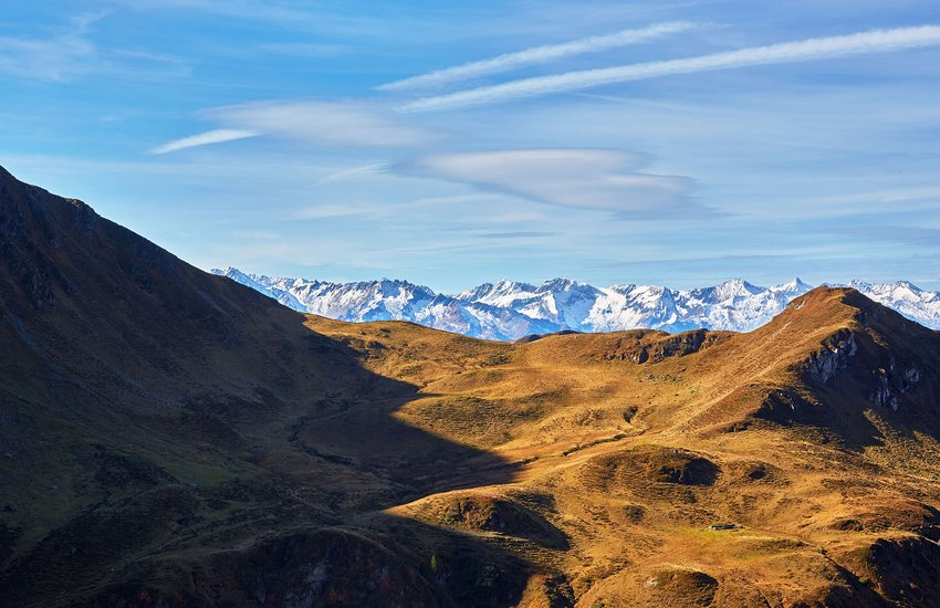 Bergpanorama Saalbach Hinterglemm