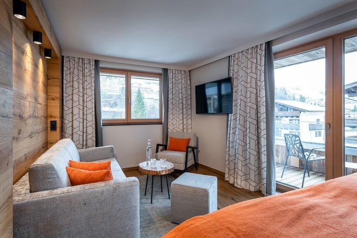 Suite Relaxzeit Sitzecke mit Ausblick