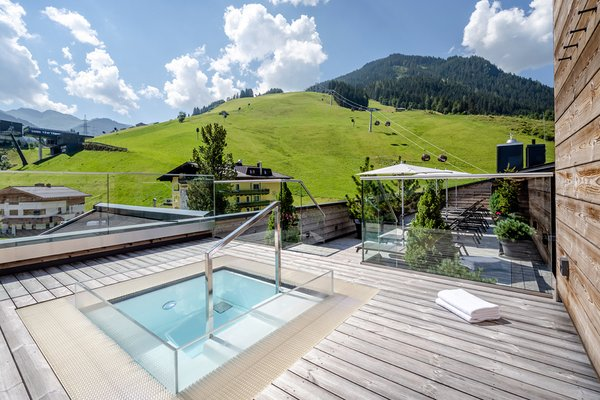 Pool Dach Sommer