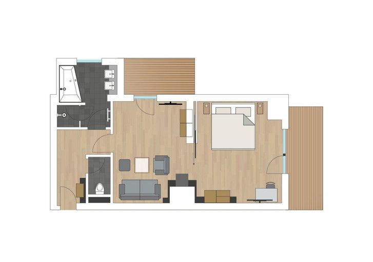 Stone pine suite Verwöhnzeit sketch