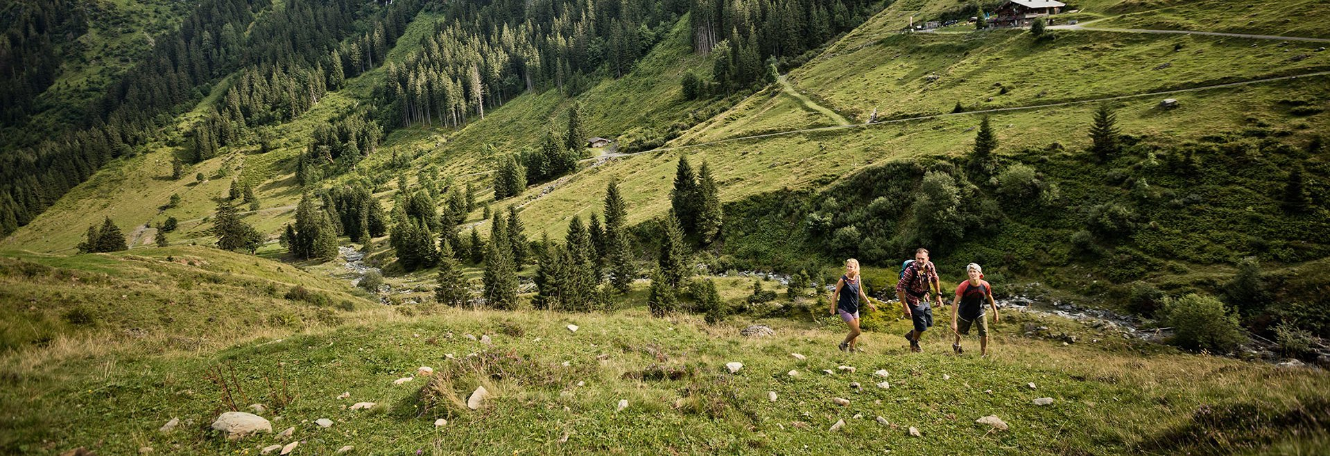 Family hike Saalbach Hinterglemm