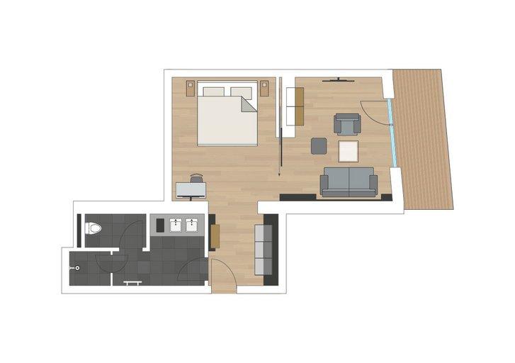 Stone pine suite Wohlfühlzeit sketch