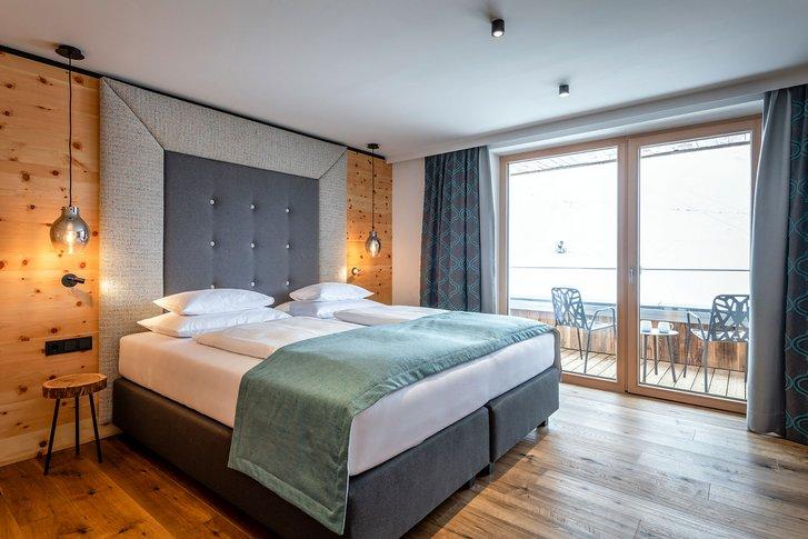 Stone pine suite Verwöhnzeit interior view