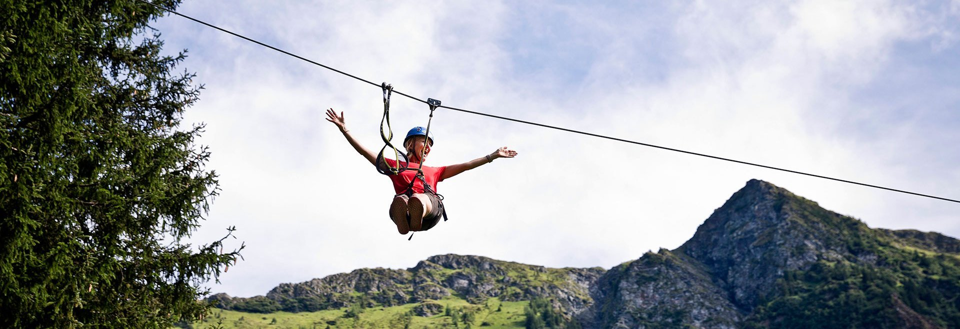 High-rope course Saalbach Hinterglemm
